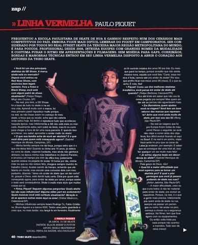 Tribo Skate Edição 206 by Revista Tribo Skate - issuu 8c6e1ddf302