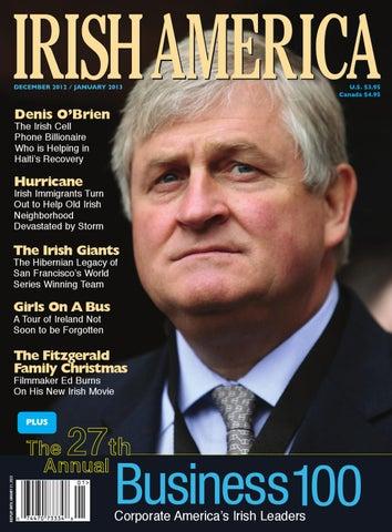 Irish America December January 2013 By Irish America Magazine Issuu