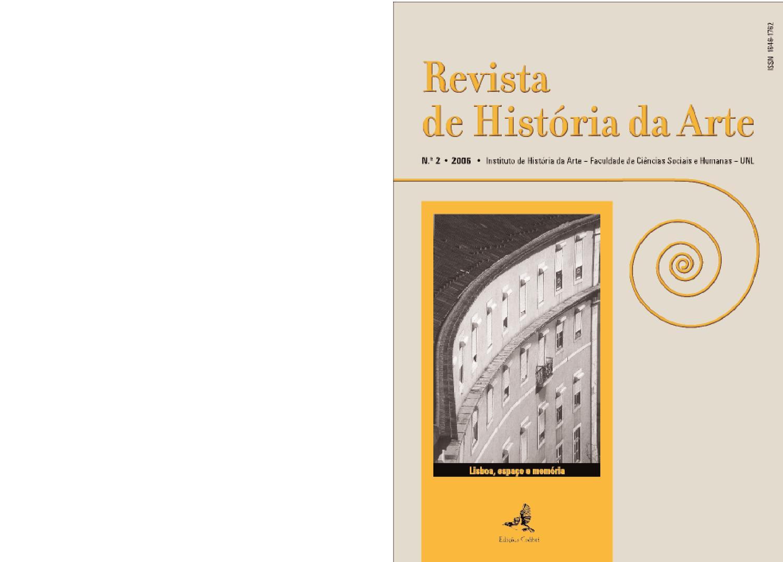 968819903aa Revista de História da Arte (n.º2   2006) by Instituto de História da Arte  FCSH-UNL - issuu