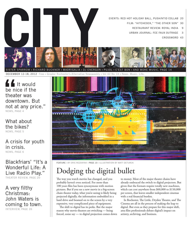 December 12 18 2012 City Newspaper by Rochester City Newspaper