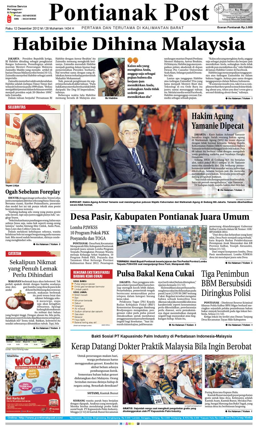 Pontianak Post by Pontianak Post - issuu