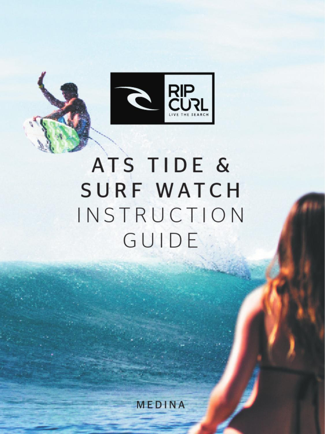 Watch instruction guide by rip curl australia issuu nvjuhfo Images