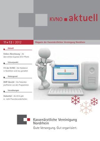 kvno aktuell 11 12 2012 by kv nordrhein issuu. Black Bedroom Furniture Sets. Home Design Ideas