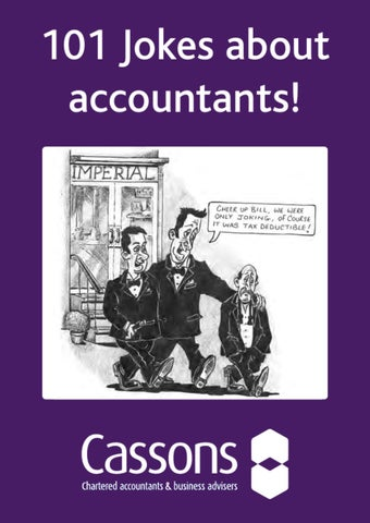 101 Jokes About Accountants By Cassons Chartered Accountants Issuu