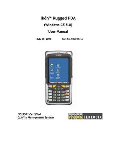 ik n windows ce 5 0 user manual by spirit data capture limited issuu rh issuu com Windows Mobile 6 Windows Mobile 3.0