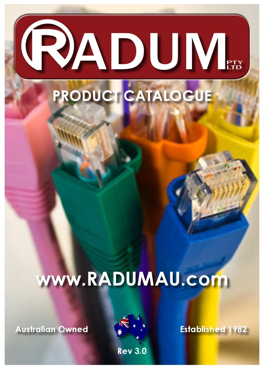 Radum Products By Christine Moschitta Issuu To Db25 Serial Cable Pinout Besides 13 Pin Trailer Plug Wiring Diagram