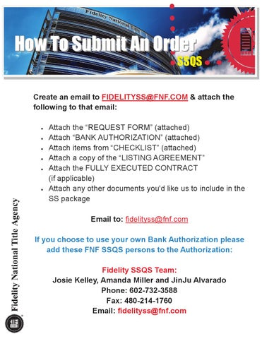 Ssqs How To Submit An Order By Chelsea Peitz Issuu