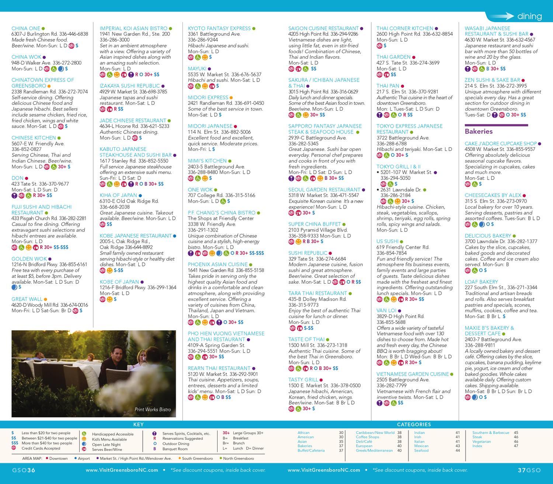 2013 Greensboro, North Carolina Visitor Guide by Greensboro CVB - issuu