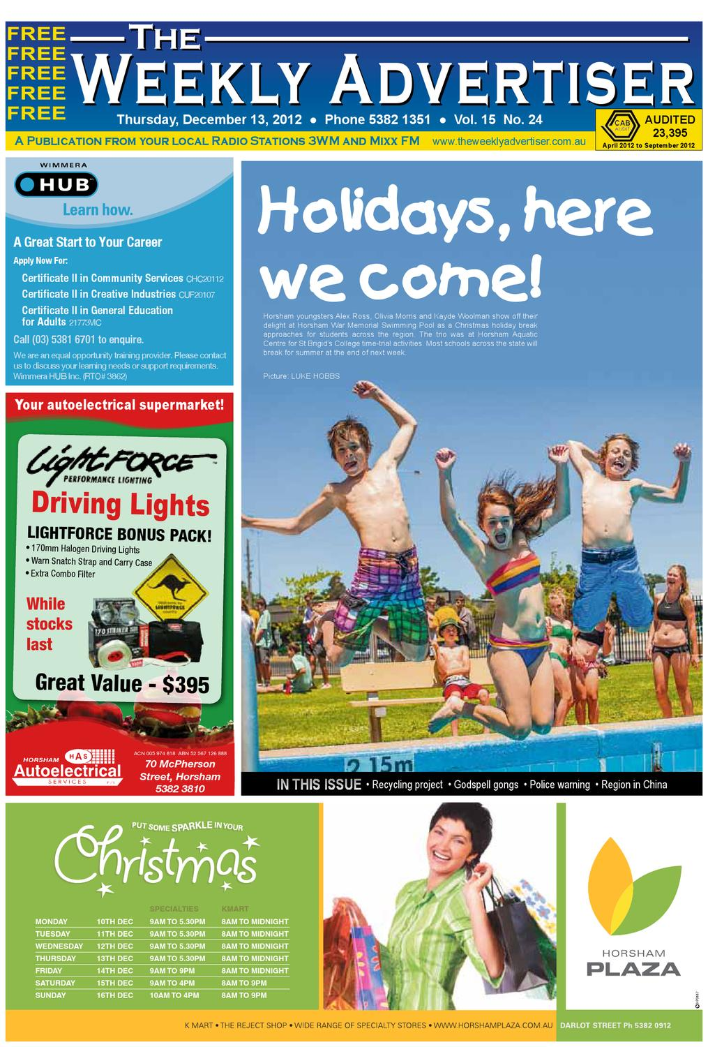 The Weekly Advertiser Thursday December 13 Edition By Suzuki King Quad 750 Fuel Filter Issuu