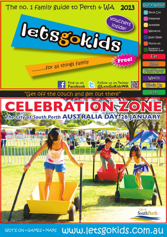 LetsGoKids Perth Magazine - 2013 Edition