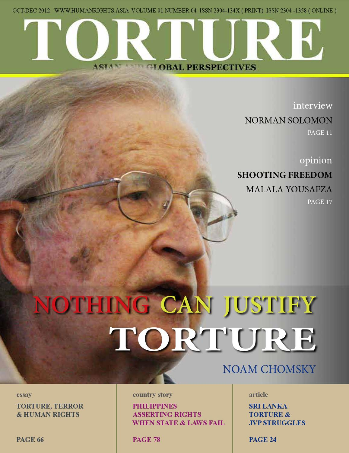 essay on torture and human rights The human rights situation in the common forms of torture include protecting rights, saving lives human rights watch defends the rights of.