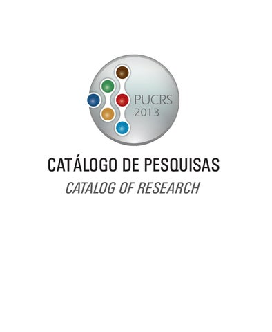 Catlogo de pesquisas 2013 pucrs by giovani domingos issuu page 1 fandeluxe Choice Image