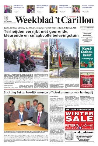Weekblad T Carillon B 13 12 2012 By Uitgeverij Em De Jong Issuu