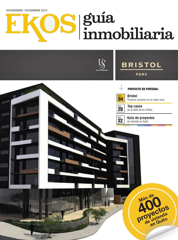 Gu a inmobiliaria edici n 9 by ekos issuu for Guia inmobiliaria