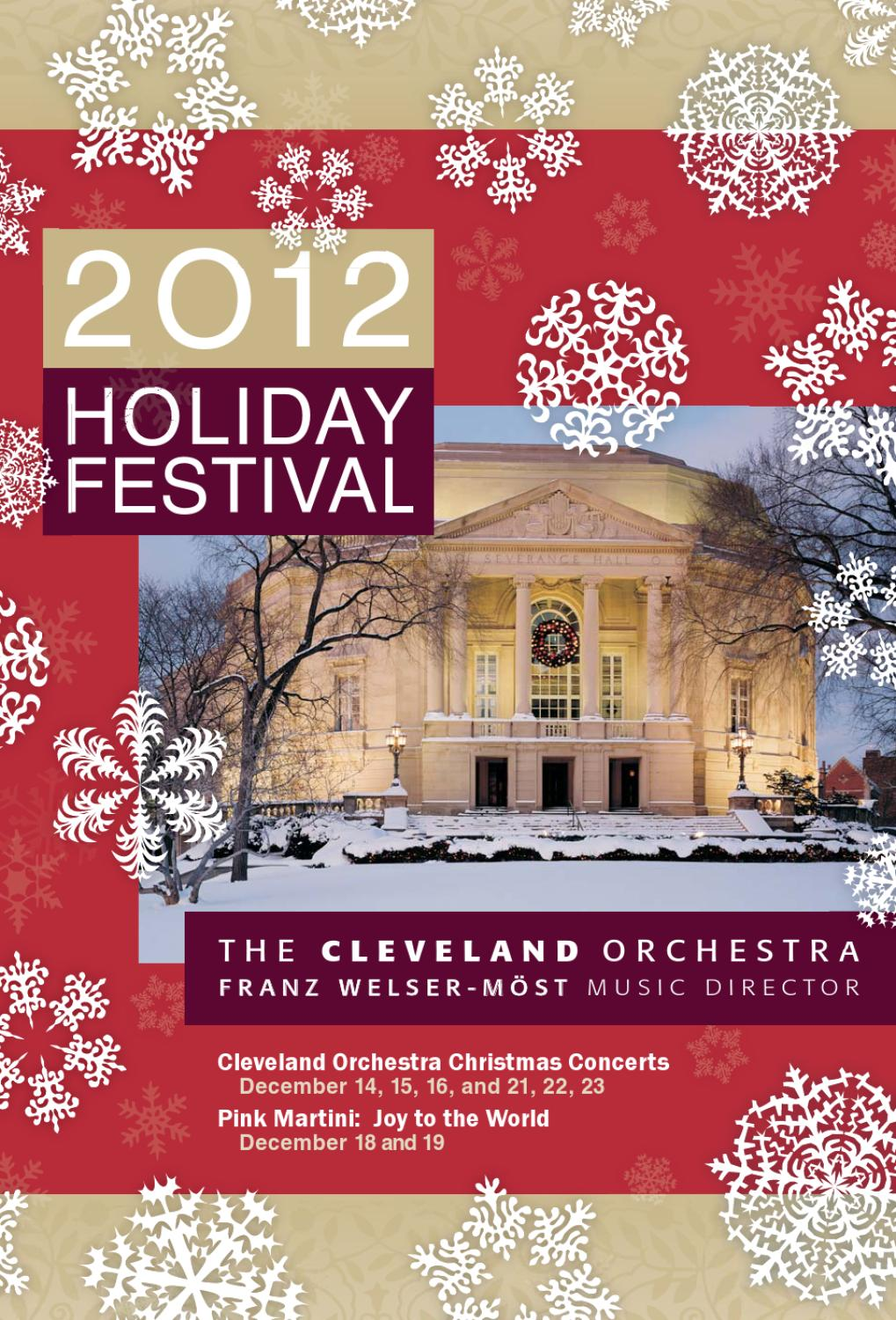 Nissan Of Streetsboro >> The Cleveland Orchestra Holiday Festival by Live