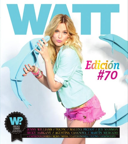 8a1b369e7d Watt #70 - Summer Edition - Jenny Williams by Revista WATT - issuu