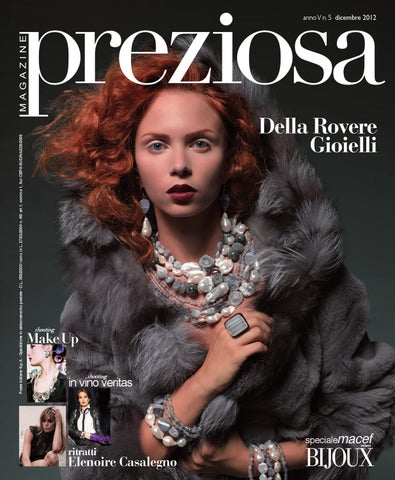 Preziosa Magazine by GOLDEN AGENCY - issuu 57eb1395455e