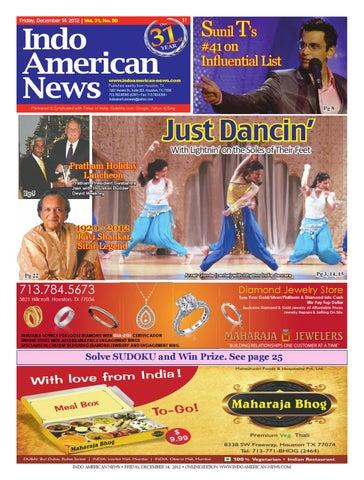 12142012 E-Newspaper by Indo American News - issuu