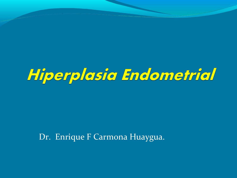 hiperplasia glandular endometrial simple sin atipia
