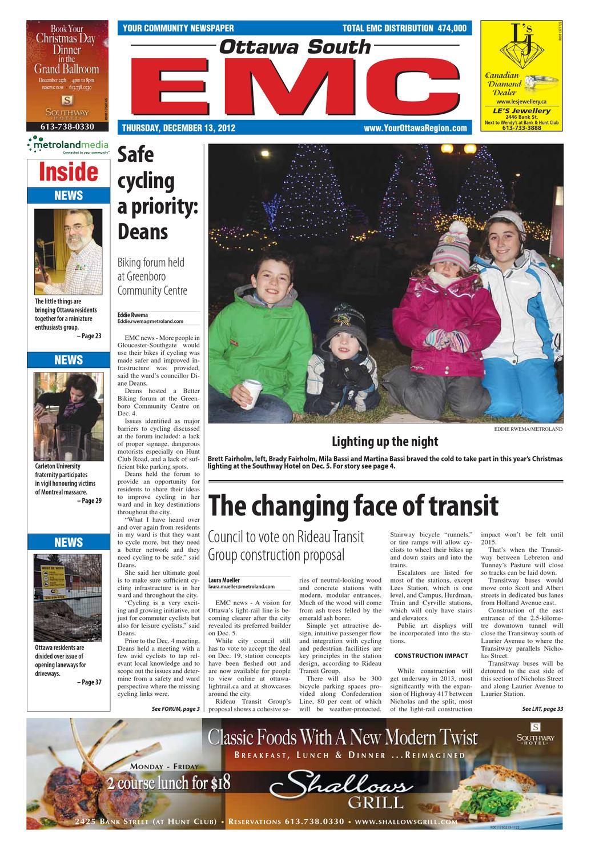Ottawa South EMC by Metroland East - Ottawa South News - issuu