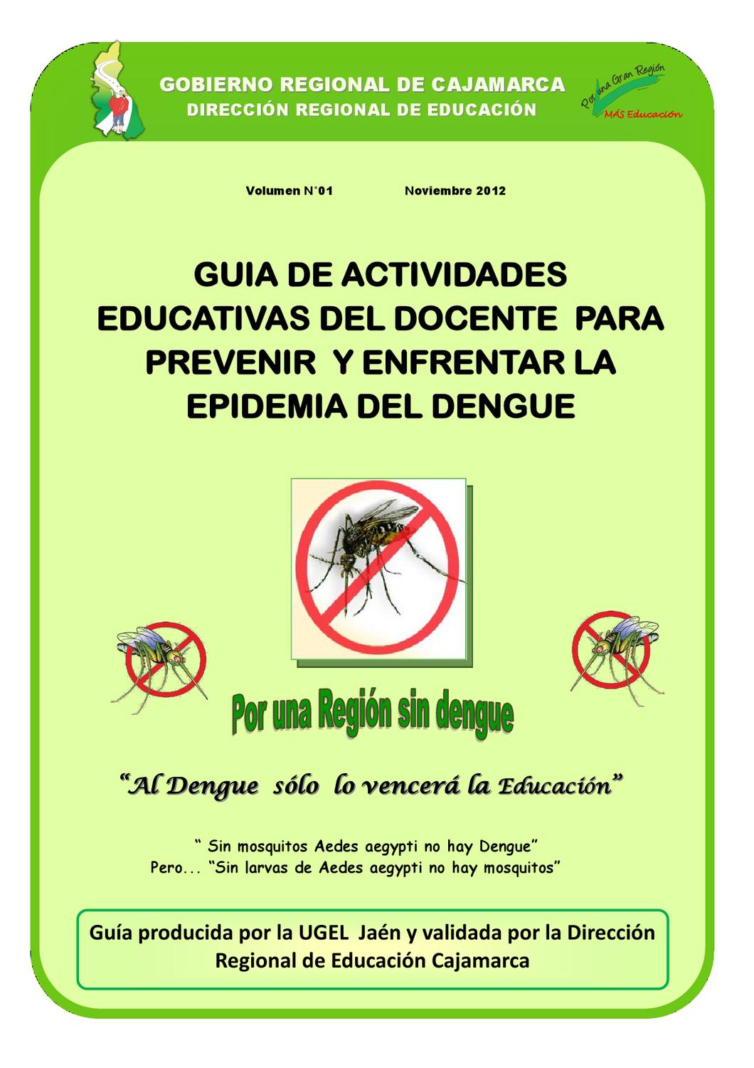 Guía Docente Lucha Contra el Dengue by Nelson Zafra - Issuu