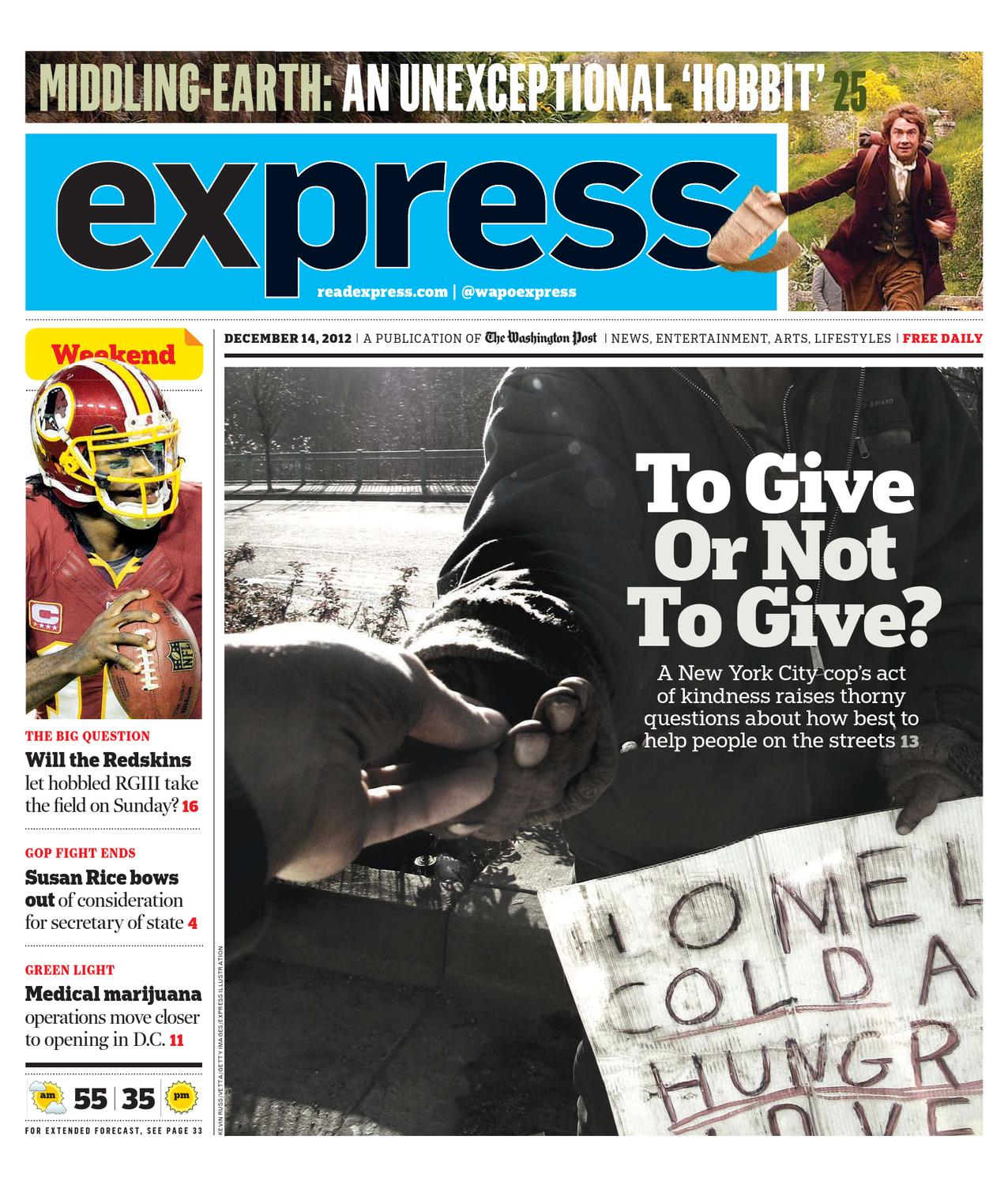 Express 12142012 By Express Issuu