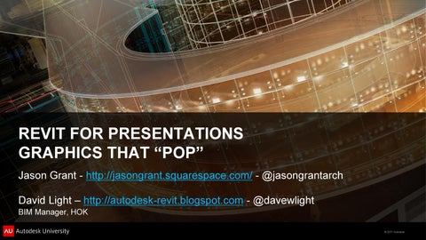 Revit For Presentations That Pop by Bruno De Oliveira - issuu