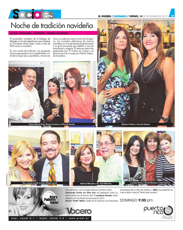Edición 14 de Diciembre 2012 by El Vocero de Puerto Rico - issuu