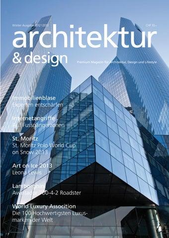 Architektur Magazin neues architektur magazin by design scherrer grasso issuu