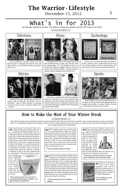 December Issue 2012 by The Warrior Online - issuu