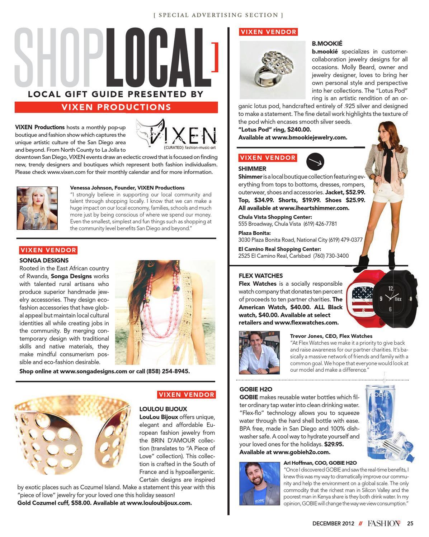 Fashion 5 0 Magazine December 2012 by Fashion 5 0 Magazine