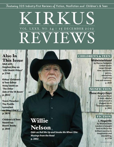 December 15 2012 Volume Lxxx No 24 By Kirkus Reviews Issuu