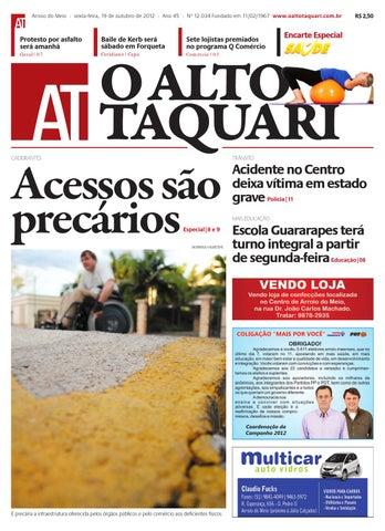 Jornal O Alto Taquari - 19 de outubro de 2012 by Jornal O Alto ... 1aed5835562ff