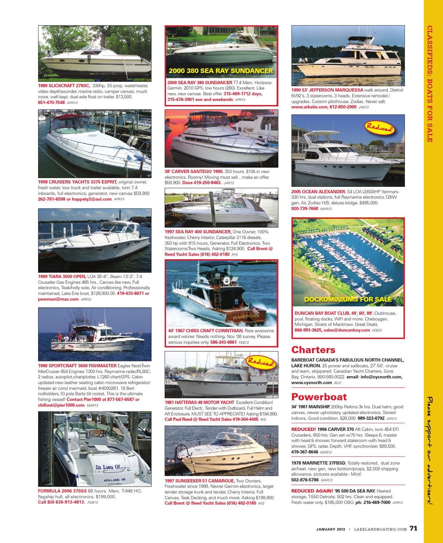 Lakeland Boating January 2013 by Lakeland Boating Magazine - issuu