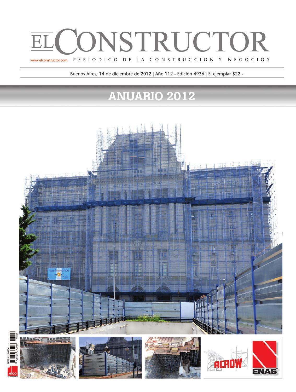 EL CONSTRUCTOR | ANUARIO 2012 by ELCO Editores - issuu