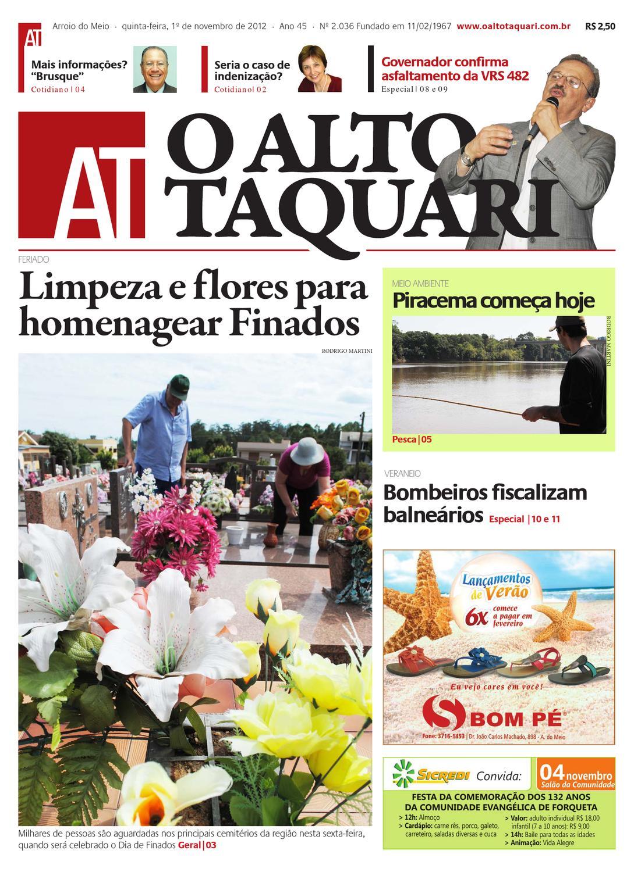 3c5fede5b Jornal O Alto Taquari - 01 de novembro de 2012 by Jornal O Alto Taquari -  issuu