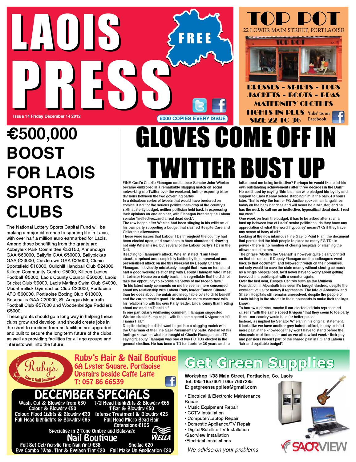 Archive News - Leinster Express