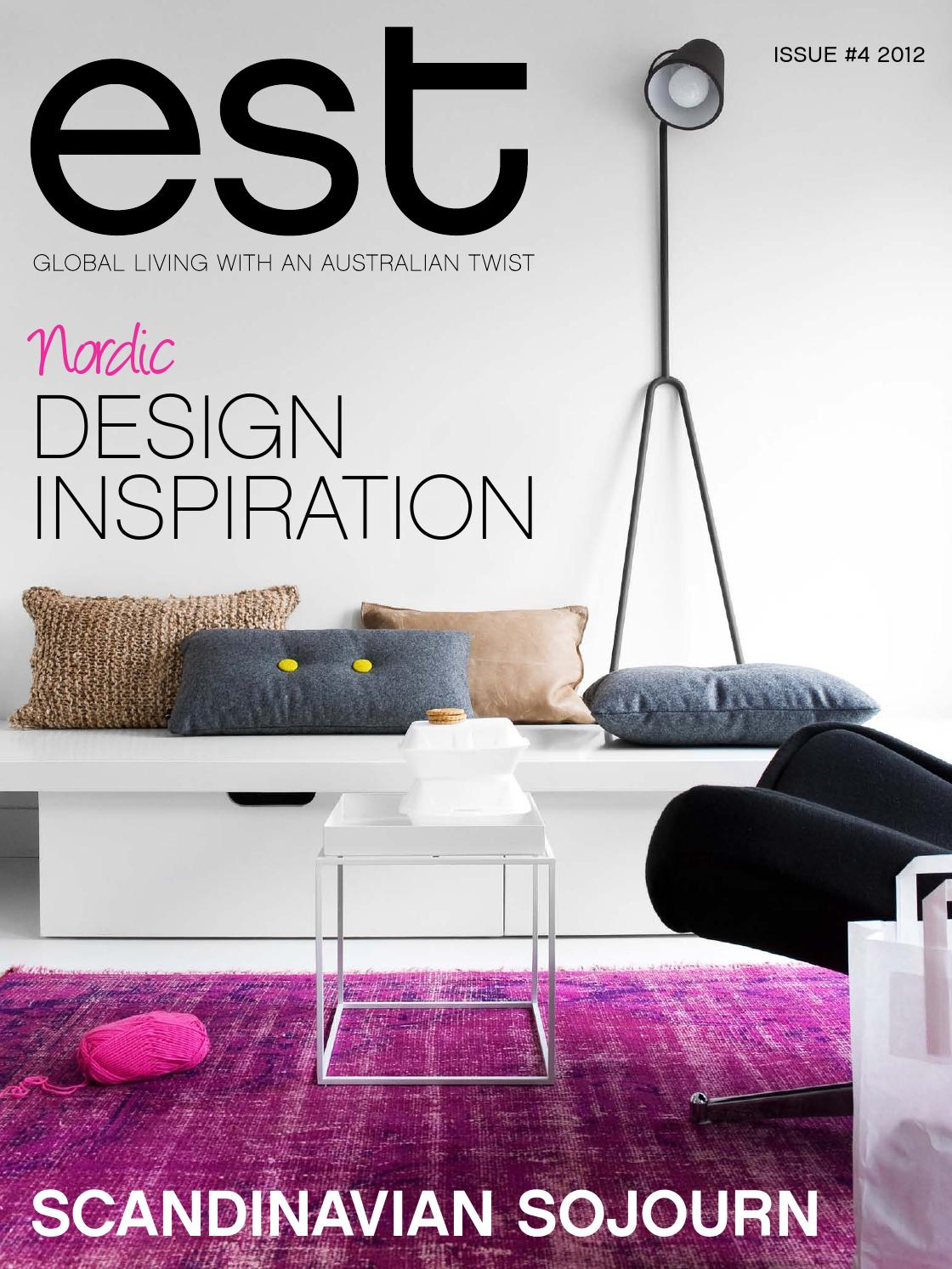Est Magazine 4 By Issuu 39 Best Interior Design