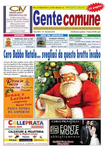 Babbo Natale 4 Salti In Padella.Gente Comune Dicembre 2012 By Tommaso Grossi Issuu