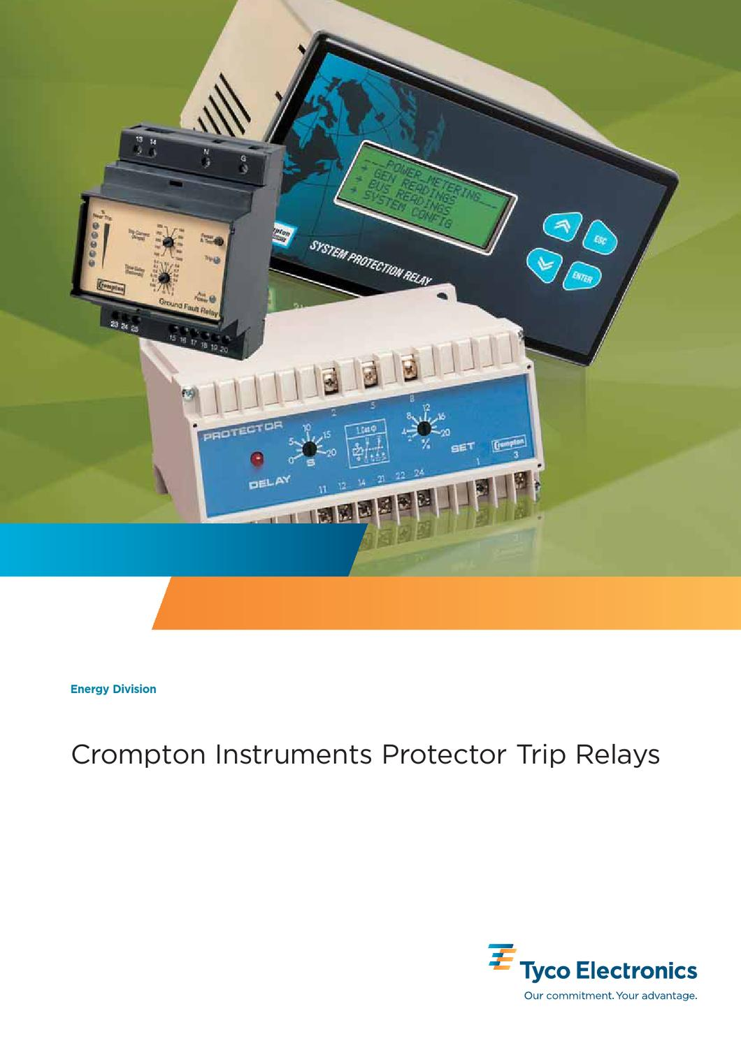 Crompton Protector Trip Relays By Bh International Issuu Power Distribution 5 Pin Relay 12v 24v