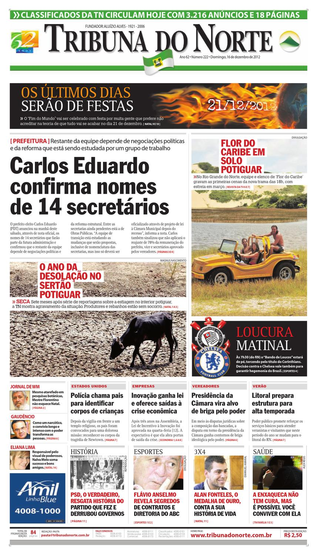 f6525bb02c Tribuna do Norte - 16 12 2012 by Empresa Jornalística Tribuna do Norte Ltda  - issuu