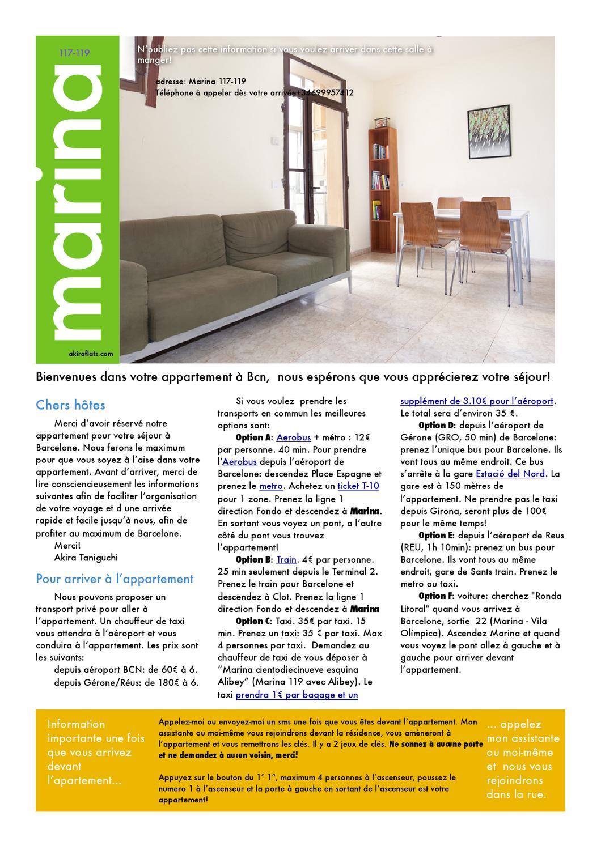akira flats appartement eixample marina ii fran ais by akira flats issuu. Black Bedroom Furniture Sets. Home Design Ideas