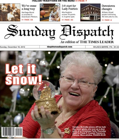 The Pittston Dispatch 12-16-2012 by The Wilkes-Barre Publishing