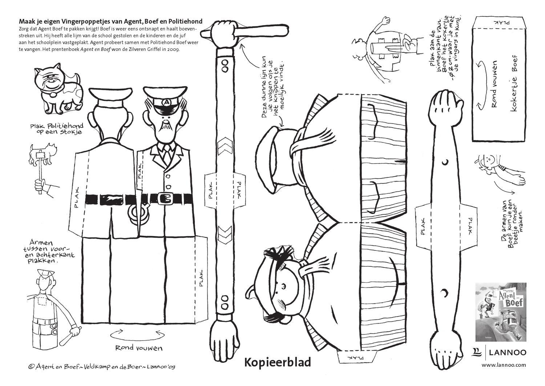 knutselplaat agent en boef by uitgeverij lannoo issuu