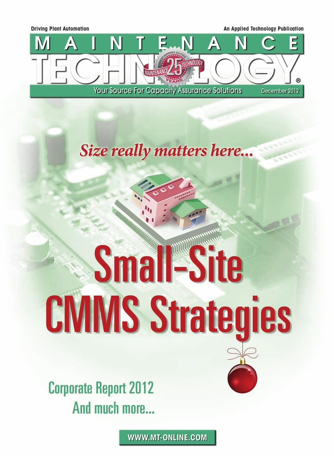 Maintenance Technology December 2012 By Applied Inverter Circuit Of Induction Heating Rice Cooker Google Patents Publications Issuu
