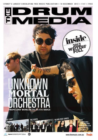 Drum Media Sydney Issue 1141 By Themusic Issuu