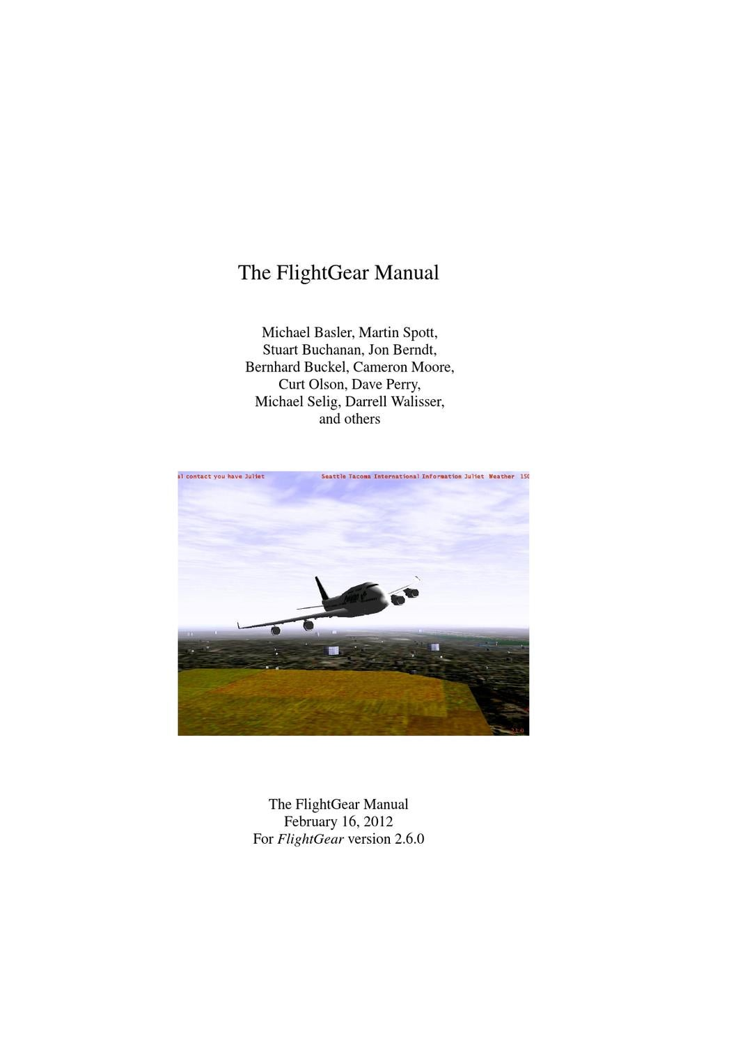 The Flightgear Manual By Hncorp Issuu F12 Magneto Wiring Schematic