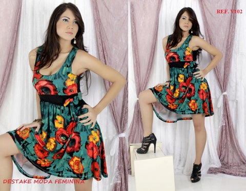 95e95d9af Destake Moda Feminina Atacado - Vestidos Dez 2012 by Destake Moda ...