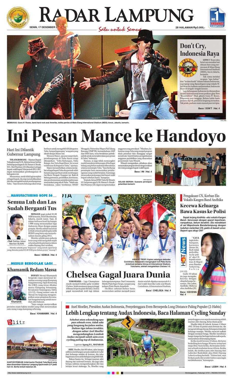 Radar Lampung Senin 17 Desember 2012 By Ayep Kancee Issuu Kopi Bubuk Asli Pagar Alam Butik 3 Size Plg
