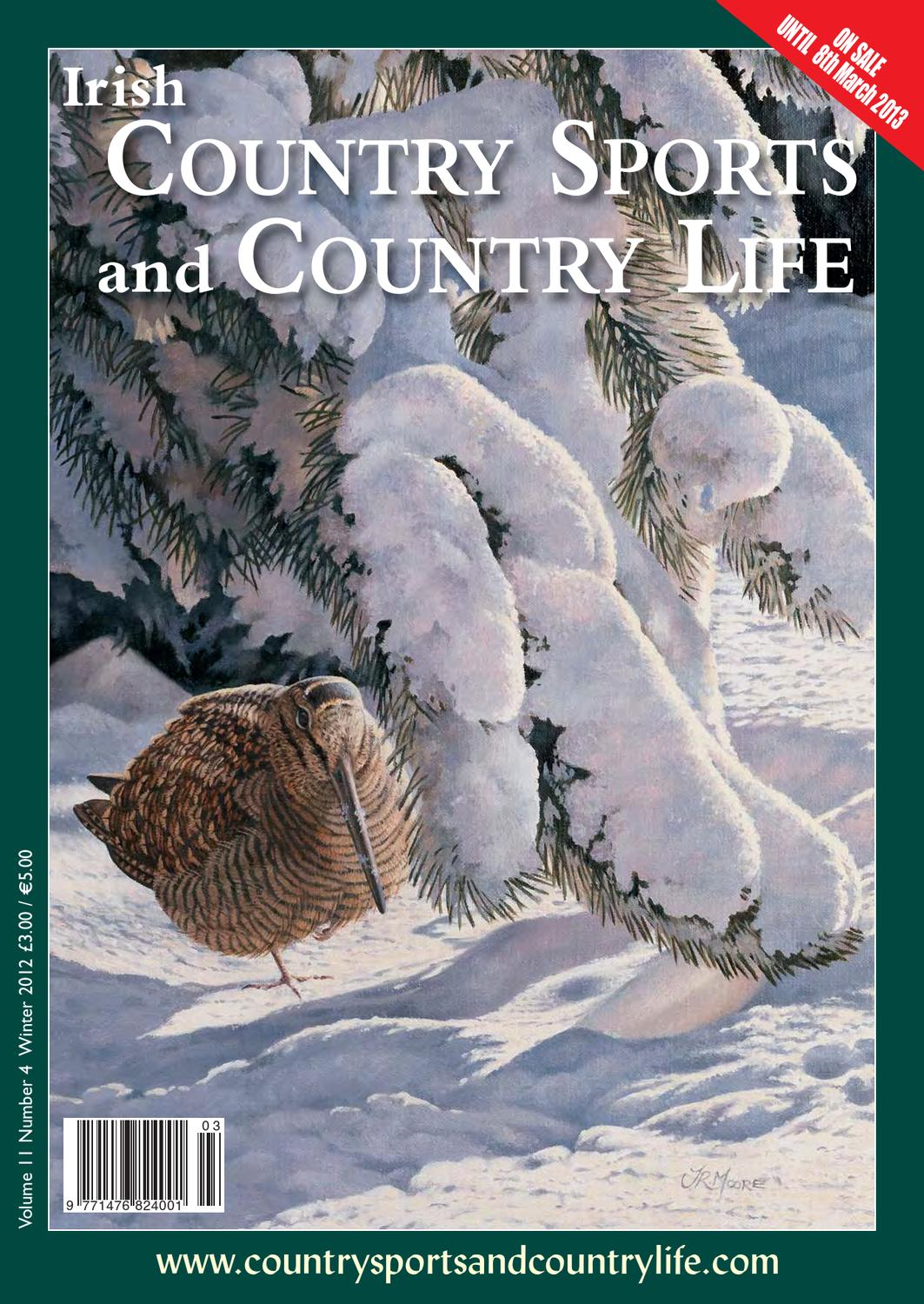 Country Sports Country Life Winter 2012 Edition By Bluegator